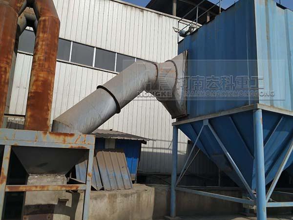 安徽污泥粘土陶粒生产线生产现场